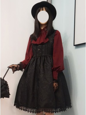 Twilight Castle Series JSK Gothic Lolita Sling Dress