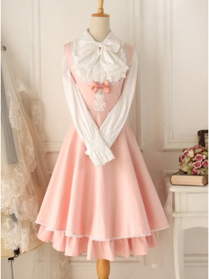 Versailles Rose Retro Elegant Classic Lolita Sleeveless Dress