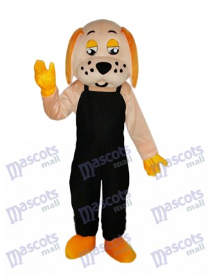 Mascotte de chien chanceux Costume adulte Animal
