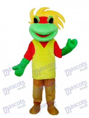 Costume Mascotte de Grenouille Prince Costume Animal