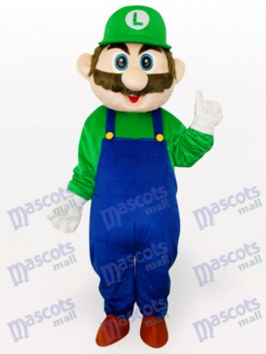 Costume de mascotte adulte Super Mario Bros Anime