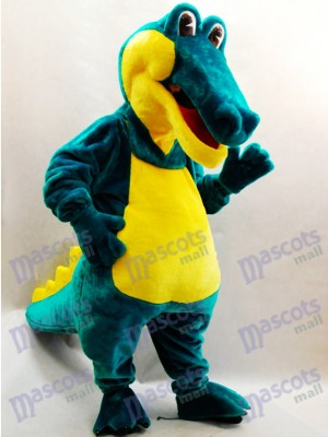 Costume de mascotte de crocodile vert Animal