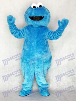 Rue de Sesame Blue Cookie Monster Mascotte Costume Party Carnaval Halloween Noël