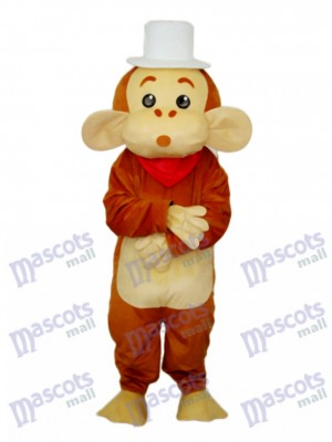 Cap singe mascotte costume adulte animal
