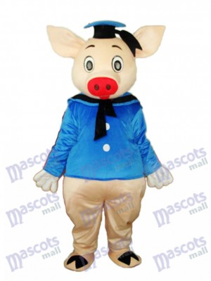 Dr.Pig Mascotte Costume adulte Animal