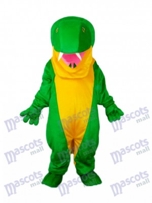 Costume de mascotte de serpent vert Animal Costume
