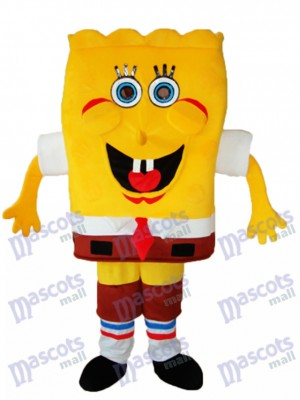 SpongeBob avec artificiel Mains Mascotte Adulte Costume Dessin animé Anime