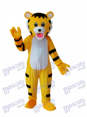 Peu tigre Mascotte Costume adulte Animal