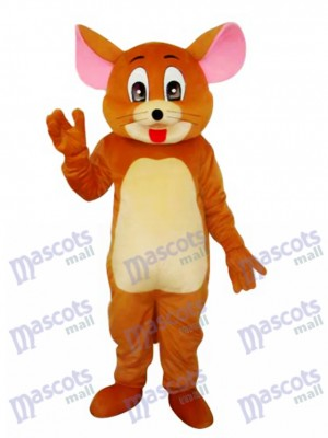 Jerry Rat Mascotte Adulte Costume Dessin animé Anime