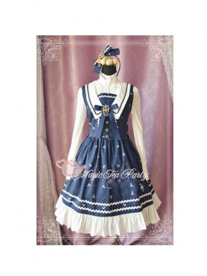 Magic Tea Party The Anchor Of The Sea Series School Lolita Sleeveless Dress