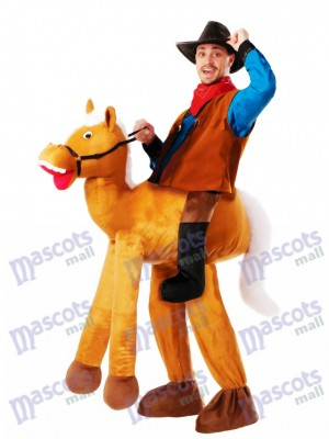 Poney Cheval Poney Poney Cheval Carry Me Ride Horse Mascotte Costume