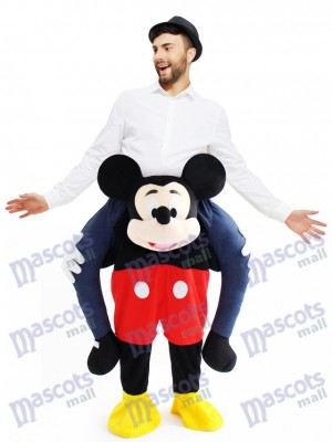 Piggyback Mickey Mouse Carry Me Ride Souris Mascotte Costume
