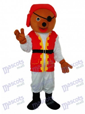 Pirate Ours Mascotte Costume Adulte Animal