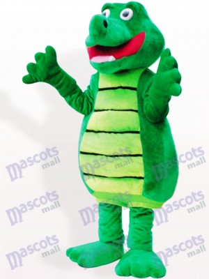 Costume de mascotte adulte animal crocodile