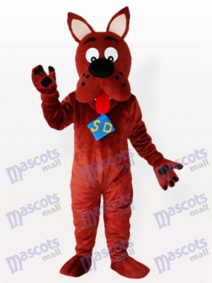 Scooby Chien Adulte mascotte Funny Costume