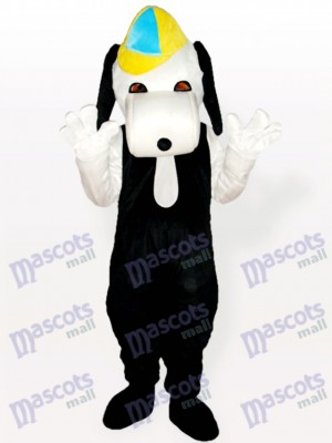 Snoopy Dog en tenue décontractée costume de mascotte adulte