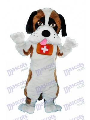 Costume Saint Bernard Mascotte Chien Animal