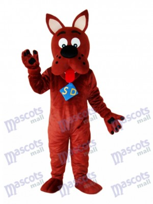 Scooby-Doo Mascotte de chien Costume adulte Animal