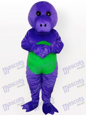 Costume de mascotte adulte dragon violet