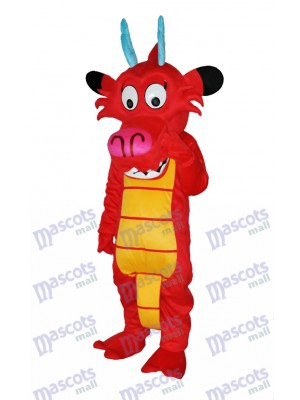 Dragon Mushu Dinosaur mascotte Costumes animaux