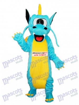 Dents dentelées Dragon Mascotte Costume adulte Animal