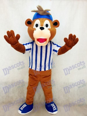 Ligue majeure de baseball Chicago Cubs Clark Le costume de mascotte ourson