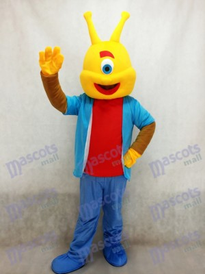 Alien Lilo Agent Costume de mascotte de Pleakley