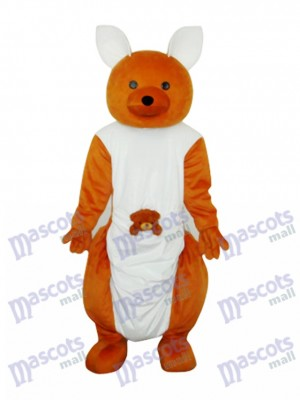 Mascotte kangourou mignon Costume adulte Animal