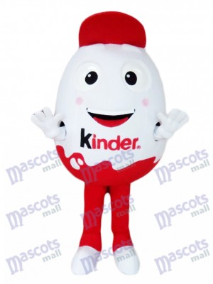 Kinder Oeuf Kinder Surprise Kinder Joy Costume de mascotte