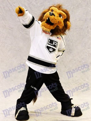 Bailey le lion du Costume de mascotte des Rois de Los Angeles