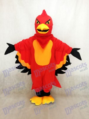 Nouveau Costume de mascotte rouge et orange Thunderbird