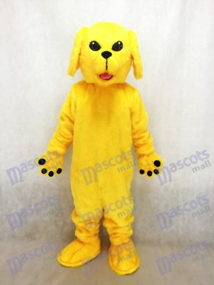 Nouveau mignon Golden Lab Mascotte de chien Costume Animal