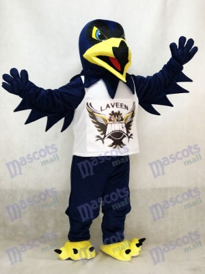 Déguisement de mascotte bleu nuit Night Hawk Costume de mascotte Université Animal