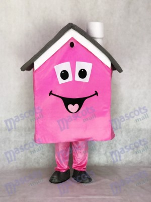 Rose Housing House Agent immobilier Promotion mascotte Costume