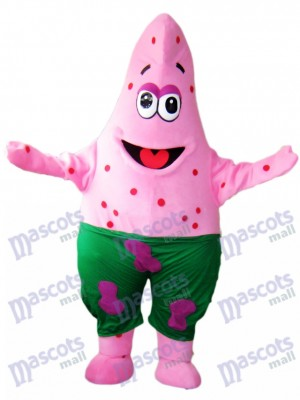 Spongebob Patrick rose étoile de mer Costume de mascotte Animal Cartoon