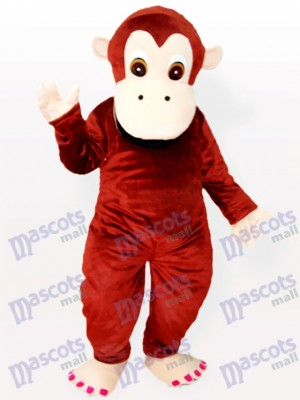 Costume de belle mascotte animal chimpanzé