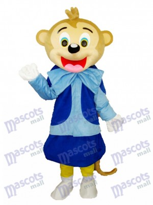 Smart Monkey Costume de mascotte adulte Animal