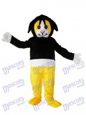 Tony Singe en pull noir Costume de mascotte adulte Animal