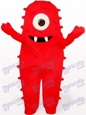 Costume de mascotte adulte Red Monster Anime