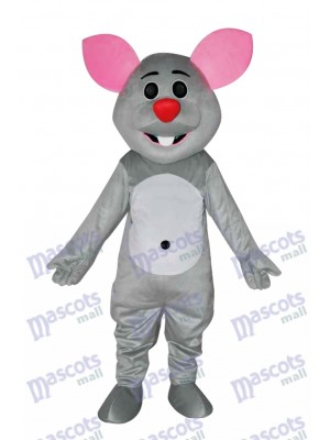 Costume de mascotte souris grise Animal