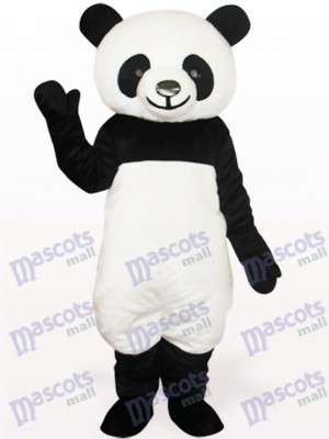 Costume de mascotte adulte noir Panda Animal