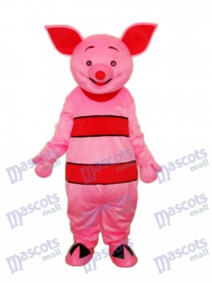 Petit Costume de Mascotte de Cochon Rose Animal