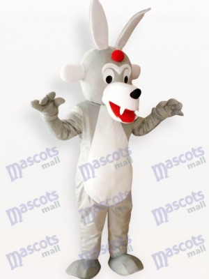 Costume de mascotte adulte animal de bois de loup de Timber