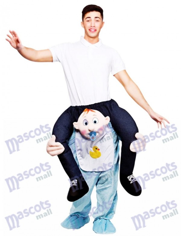 Bébé Porter Carry Me Ride Piggy Back Porter Carry Mascotte Costume Ride Sur Funny Déguisements
