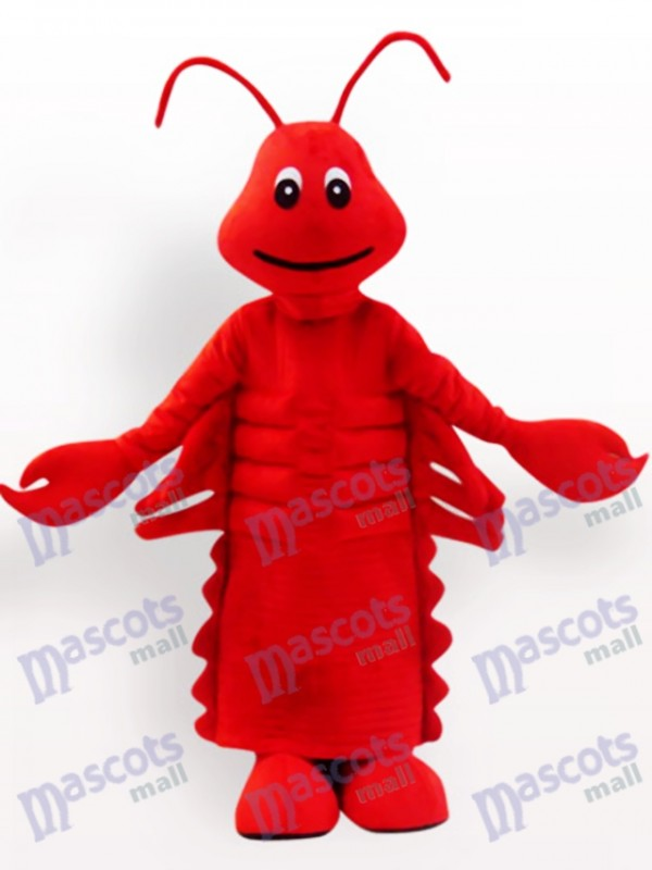 Costume de mascotte adulte Cartoon rouge homard