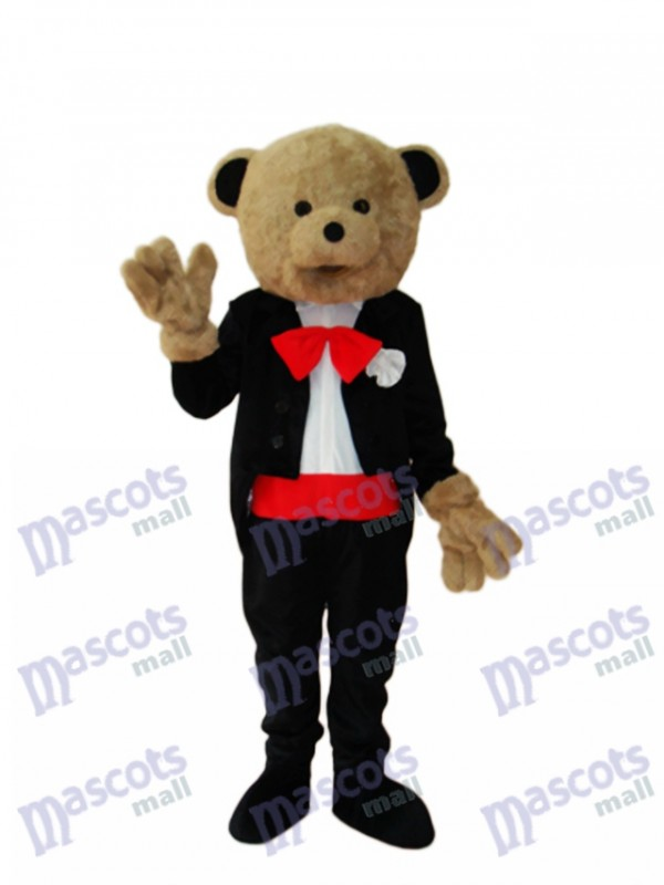 Ours de mariage mascotte Costume adulte Animal