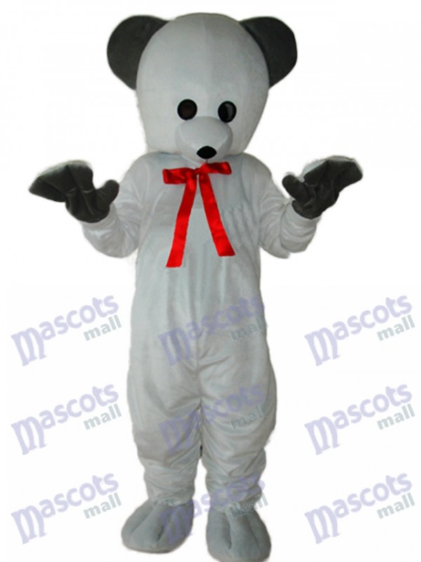 Costume adulte mascotte ours blanc polaire Animal