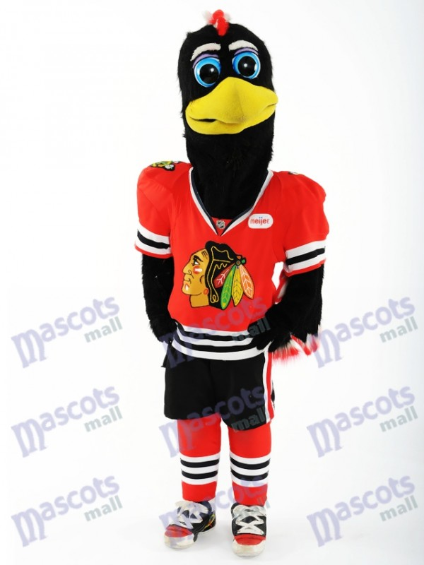 Costume de mascotte de Chicago Blackhawks Tommy Hawk