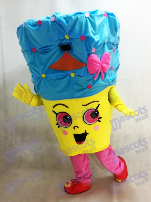 Shopkins Cupcake Queen Girls Costume de mascotte