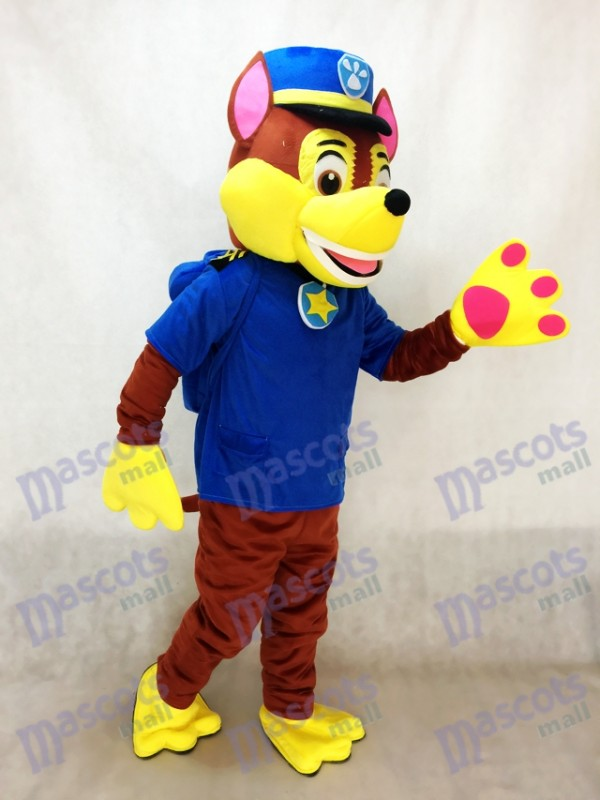 Paw Patrol Chase Chien Mascotte Allemand Berger Sheep Chien Spy Costume